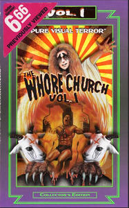 Image of The Whore Church Vol. 1 Special edition VHS