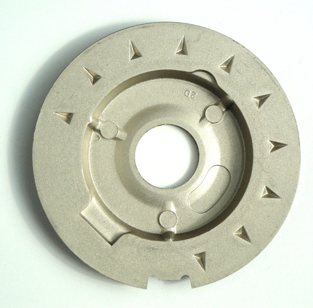 Image of Scarce Chevron Dial Plate Used in Early GPO 706 telephones