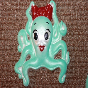 Image of Vintage reproduction Miller Studios Mrs. octopus