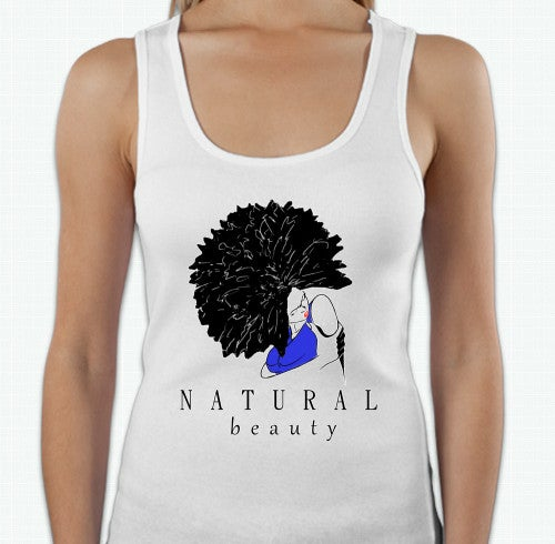 Image of Natural Beauty Tank- Blue