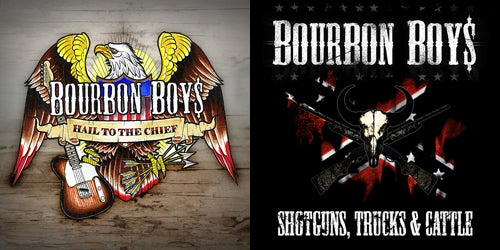 Image of Bourbon Boys - 2 x album pack [CD]