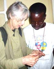 Image of Hand-knotted Rosary from Rwanda