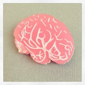 Image of Brain Brooch - Introductory Price