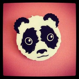 Image of Panda Brooch