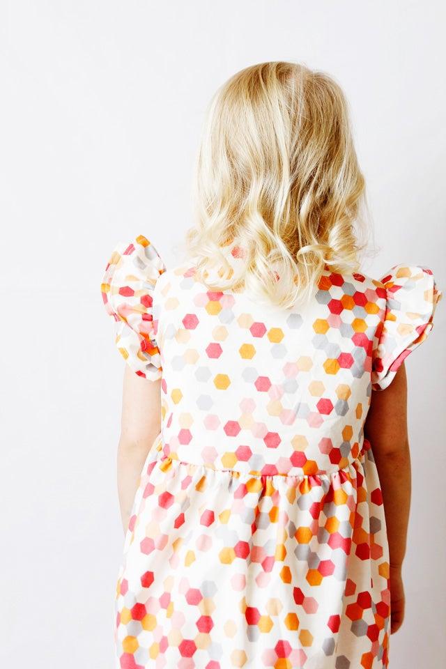 Image of the DAYDREAM ruffle dress PDF sewing pattern