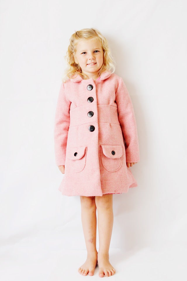 Image of the BUBBLEGUM coat PDF sewing pattern