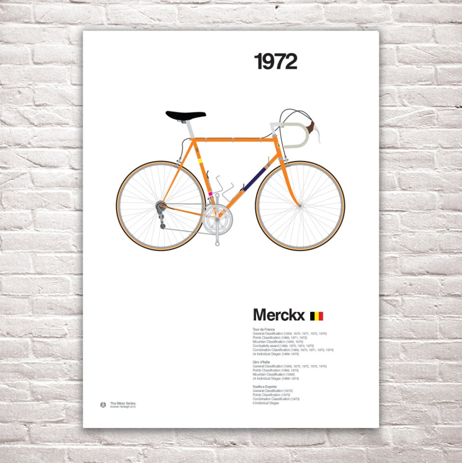 Image of Bike Series - Eddy Merckx