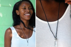 Image of THE WHITE TEARS NECKLACE