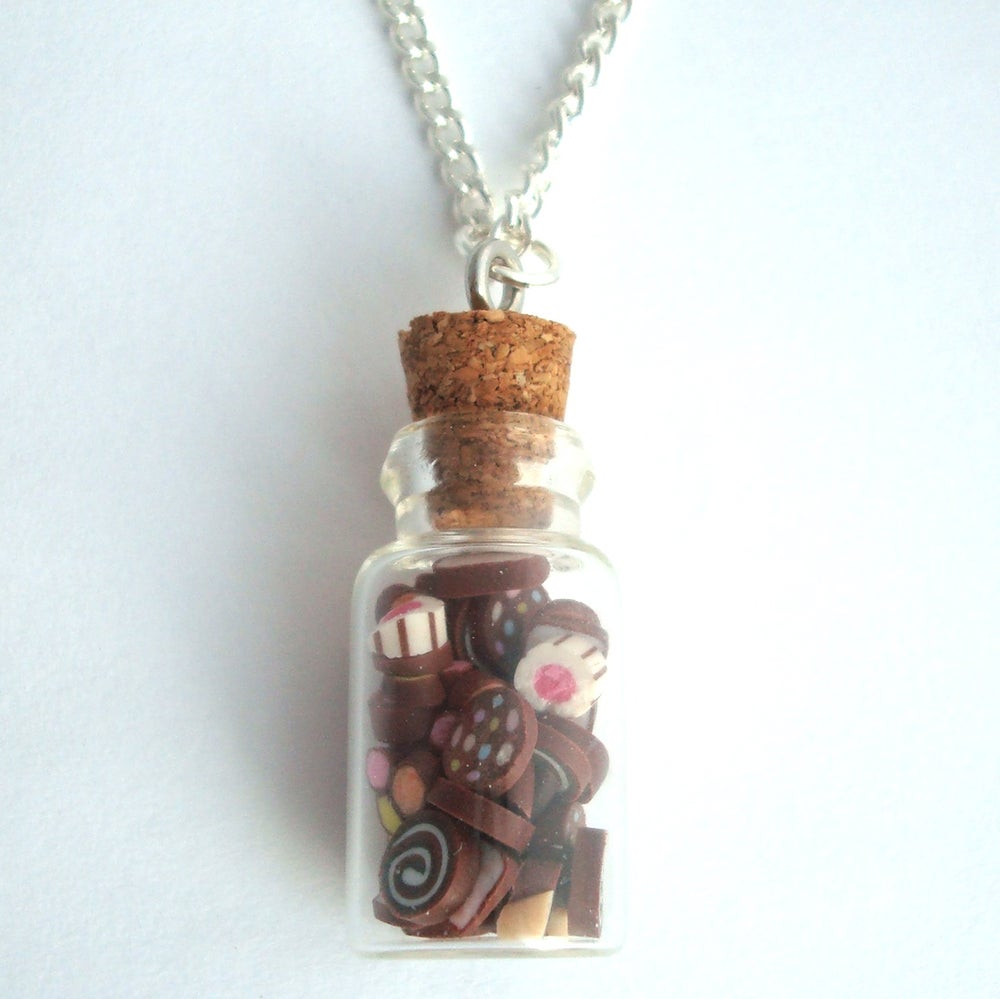 Image of Chocolate Jar Necklace