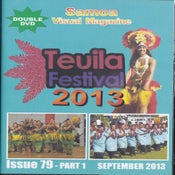 Image of TEUILA FESTIVAL 2013 DOUBLE DVD & MISS SAMOA 2013