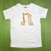 Image of Eye to Eye Giraffes Youth Unisex T-Shirt