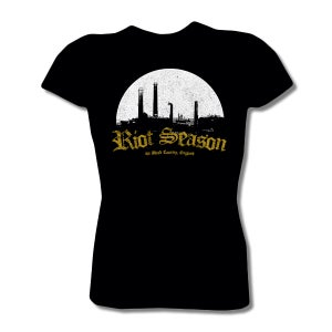 Image of RIOT SEASON Black Country T-Shirt 2013 (Womens Black)
