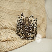 "Image of Glam ""Paris"" Crown - Vintage Shabby Chic Style - Baby to Adult"