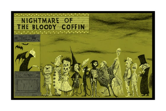 Image of Nightmare of the Bloody Coffin-Halloween Premiere Blood Falls