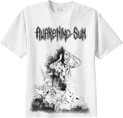 """Image of """"IMBALANCE"""" - White T-Shirt"""