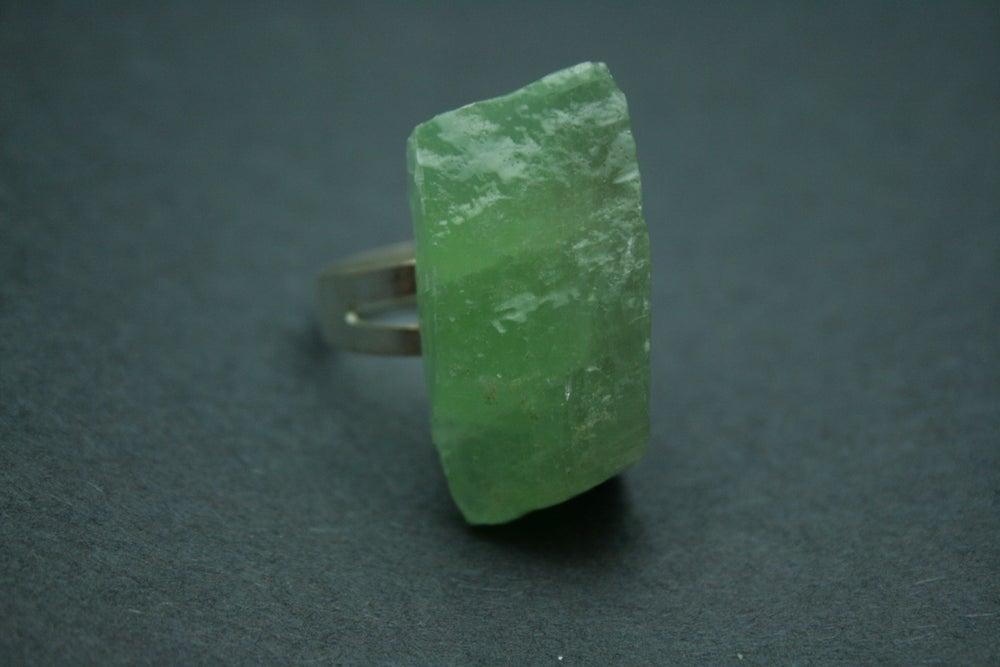 Image of Green Fluorite Ring