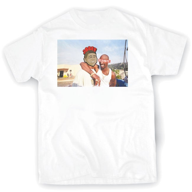 Image of DOE x Jabee Tupac Tribute Tee
