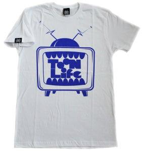 Image of T.V. Logo (White Sapphire)