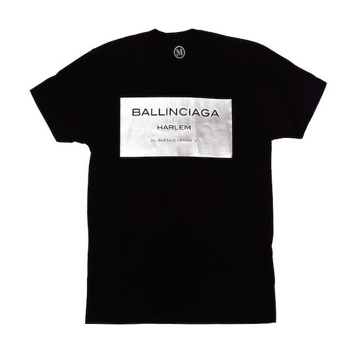 Image of C.O.I. SILVER FOIL BALLIN TEE LIMITED EDITION