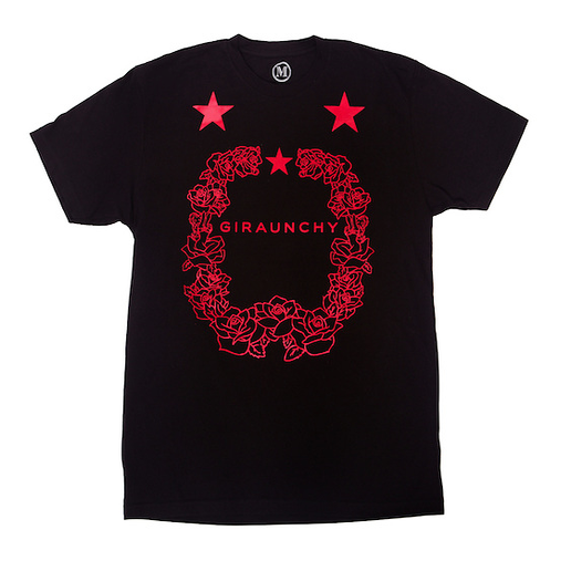 Image of C.O.I. RED FOIL RAUNCH TEE  LIMITED EDITION