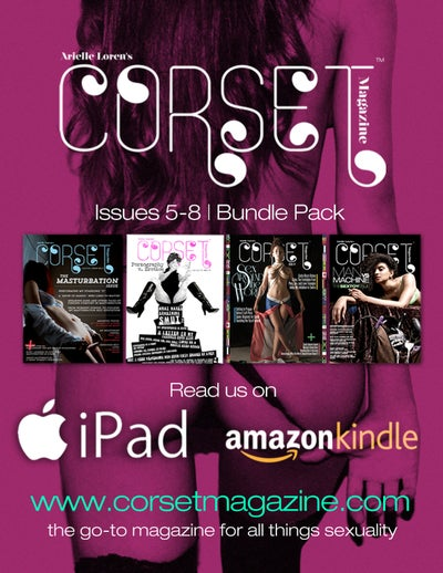 Image of Corset Magazine, 4-Issue Bundle Pack, Issues 5-8 (Digital)