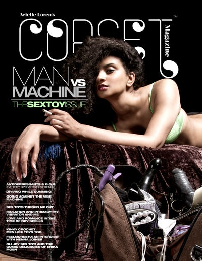 Image of Corset Magazine, Issue 8, Man v. Machine: Sex Toys (Digital)