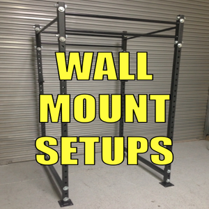 Image of 4x4x8 Wall Mount Setup