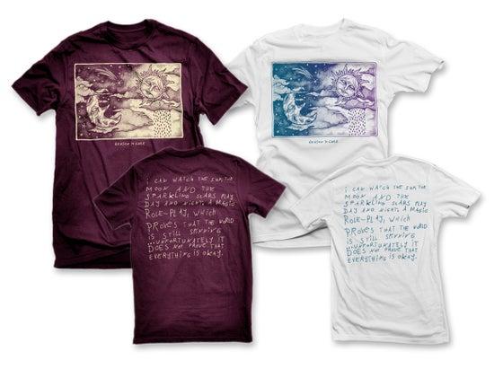 Image of Sun, Moon And Stars T-Shirt