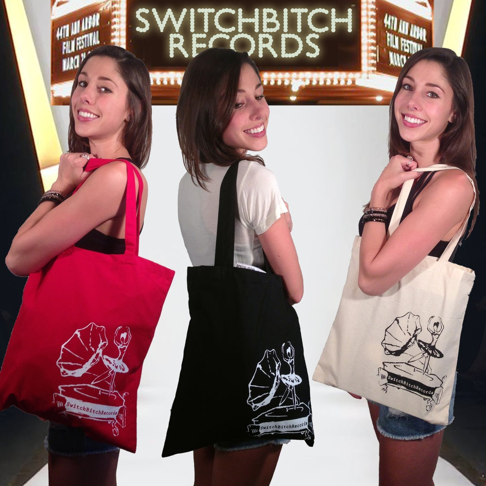 Image of SwitchBitch Records Tote Bags