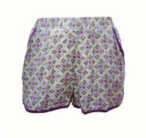 Image of Nicola Boho Print Short (Purple)
