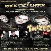 Image of 10-20 Rock N Shock w/ Twiztid, The Roc, Blaze, Madchild, Aqualeo, & iNFiNiTTi