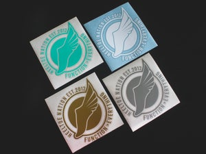 "Image of 6""x6"" Vinyl HTN ""Seal"" Sticker"
