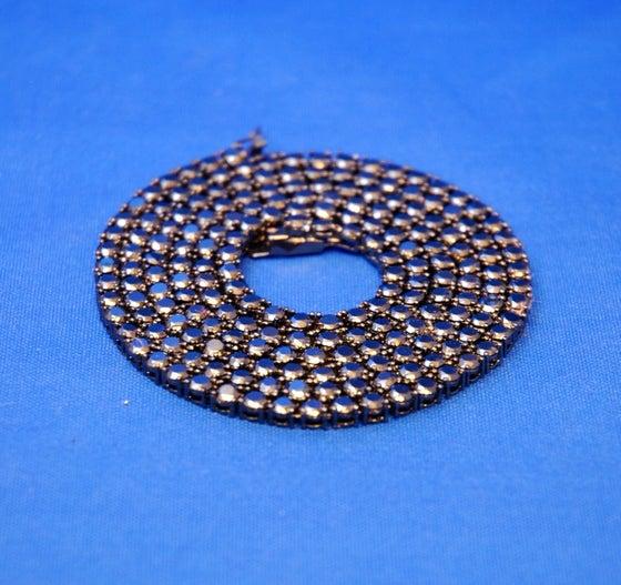 Image of Black diamond necklace