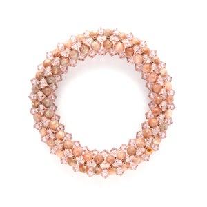 Image of Chalk Pink Rope Bracelet