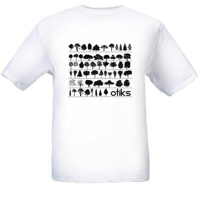 Image of T-Shirt - Tree Design