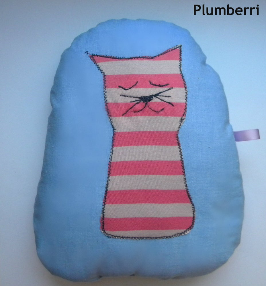Image of Sleeping Kitty Pillow