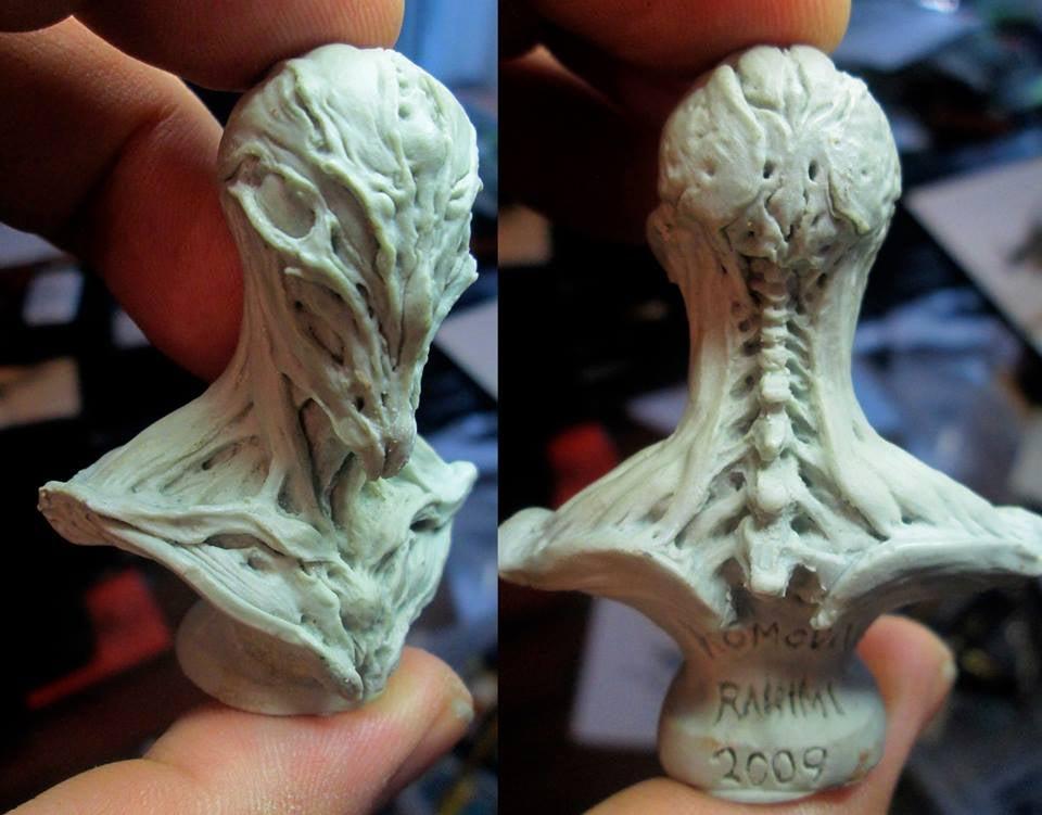 Image of Paul Komoda's Anathema Mini Bust