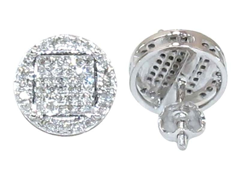 Image of 10KT Round Micro PAVE STUDS