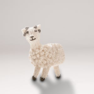 Image of Puppet animal Ram white