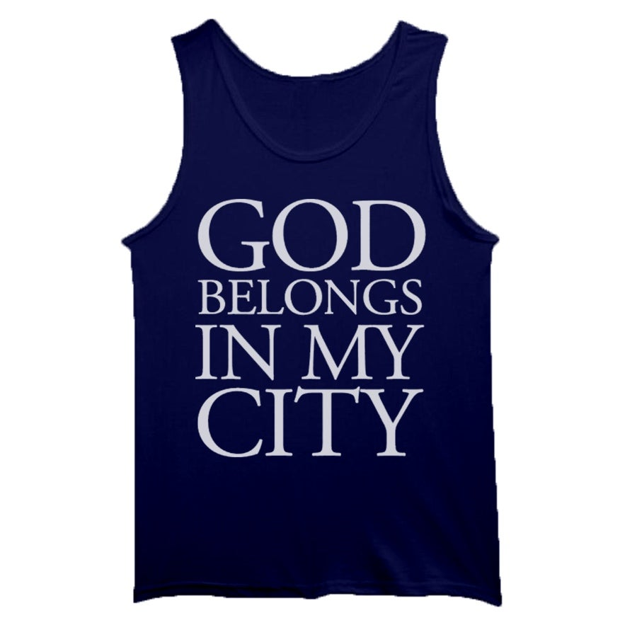 Image of Navy Blue Tank Top