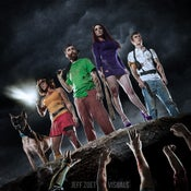 "Image of Scooby-Doo ""On The Edge"" print (mulitiple sizes)"