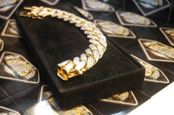 Image of 20mm Cuban Bracelet (fully set)