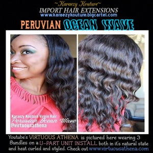 Image of Virgin Peruvian OCEAN WAVE