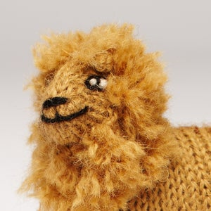 Image of Puppet animal Lion