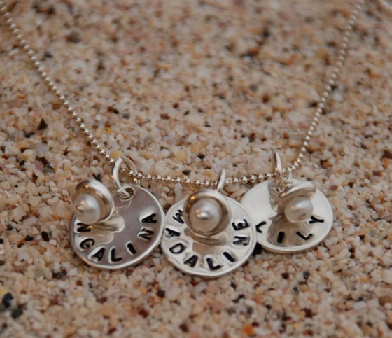 Image of The Kerry Necklace: Three Names