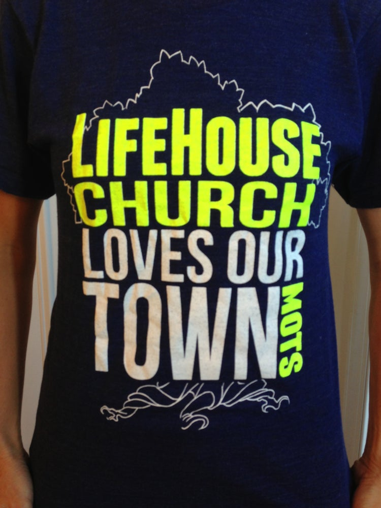 Image of LifeHouse Loves Our Town - Tshirt