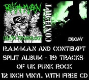 Image of  Contempt / R.A.M-M.A.N ‎– Decay / Death Technology