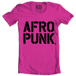 """Image of AFROPUNK - Essential Stack Logo T  """"Berry"""""""
