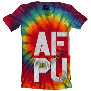 Image of AFROPUNK T-Shirt 'Tie Dye' by L3NF