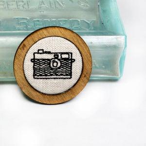 Image of Retro Instamatic Camera - Classic Round Frame